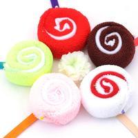 Free shipping Wedding gifts cute candy lollipop towel wash towel