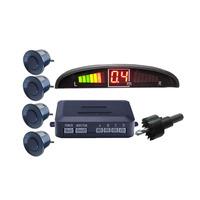 2014 Popular Easy Install LED Display Parking Sensor 4 Sensors Parking Aid Reversing Radar Auto Car Parking Sensor System