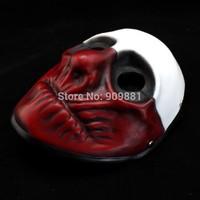 High-grade handcraft resin prop Halloween cosplay Masquerade Payday The heist Wolf Mask Demon joker mask Freeshipping