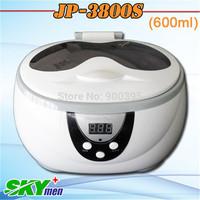 Ultrasonic bath JP-3800S,mini ultrasonic cleaner,600ml,CE&FCC&RoHS,1 year warranty