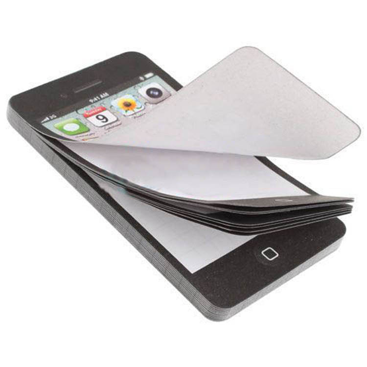 New Arrival Sticky Post It Note Paper Cell Phone Shaped Memo Pad Gift Office Supplies Drop Shipping OSS-0078(China (Mainland))