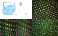 Free shipping ! New Blue Mini Projector Red &Green DJ Disco Light Stage Xmas Party Laser Lighting Show, Free & Drop Shipping