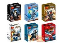 Wholesale Decool 60pcs Super Heroes Avengers Bricks figures TASKMASTER RED SKULL Action Figures Minifigures Building Blocks toys