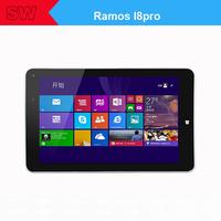 Ramos I8pro 8 inch HFFS 1280x800px Windows 8.1 tablet pc intel Z3740/Quad core/1.33GHz  Ram:2GB DDR3L/Rom:32GB eMMC 8.0MP+OV len