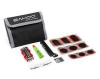 Free shipping SAHOO NEW Multifunction Tools MTB Road Bicycle Tire Repair Kits Bag,Bike tool kits Wallet