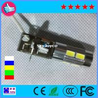 2pcs/lot H3 10 SMD 5630 LED Fog Lights Bulbs High Beam Super White 10led  lens 10smd car fog lamp bulb for driving