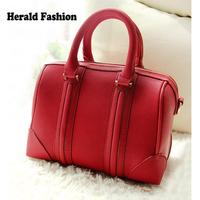 2014 Hot New Fashion Designers Famous Brand Handbags Litchi Leather Women Handbags Boston Bags Women Messenger Bag Shoulder Bag