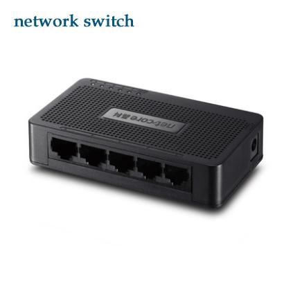4 Por Mini switch 10/100Mbps Base Gigabit Ethernet Network Switchs high performance Smart Gigabit Switch FreeShipping(China (Mainland))