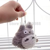 Cute Japanese Anime Miyazaki Hayao Mini My Neighbor Totoro Plush Stuffed Animal Toy Doll 3.5'' =8cm Brand New birthday gift
