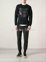 Fashion 2014 los KEN brand Couples male sport flower cashew long sleeve tshirt mens T-shirts t shirt man hot sale