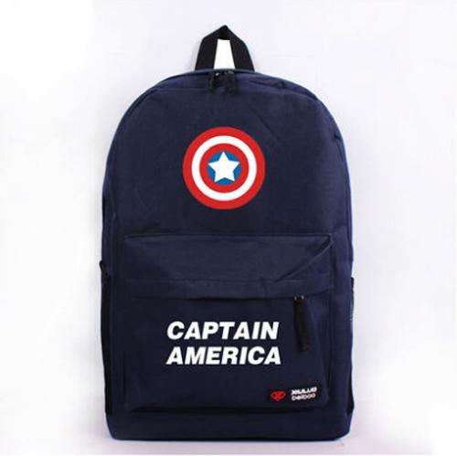 Fashion Captain America Unisex Schoolbag Anime Backpack(China (Mainland))