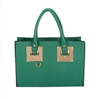Europe and America handbag women messenger bags pu leather metals decorate Lady Shoulder messenger bags PL320#61