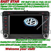 Free shipping 3G Car DVD player for VW Golf 5 6 Passat B6 B7 with DVD GPS BT Radio TV RDS Ipod 2SD USB 1831