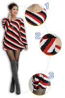 2014 Hot Sweaters Autumn Pullover Style Fashion Womenswear Sister Gift Crewnecks Large Size  ZZ0809