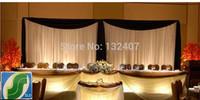 free shipping wedding backdrop drape/high quality wedding /  backdrop curtain for wedding