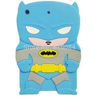 3D Cute Cartoon marvel batman Silicone case For Apple ipad mini 1  Mini 2 with Retina