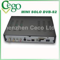 1pc   vu solo hd enigma2 Linux based DVB-S2 HD satellite receiver Mini Vu solo smart Linux TV player