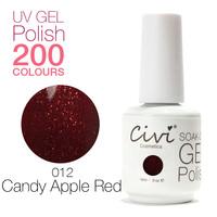 (Choose 6) Civi UV Gel Polish soak off Nail Gel Long Lasting 200 Gorgeous Colors The Best Gel Polish