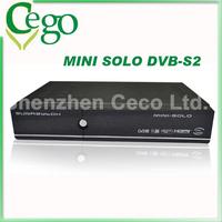 (10pcs/lot)   vu solo hd enigma2 Linux based DVB-S2 HD satellite receiver Mini Vu solo smart Linux TV player