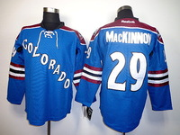 Free Shipping Cheap Colorado Avalanche #29 Nathan MacKinnon Authentic Stitched Ice Hockey Jersey Wholesale Mix Order