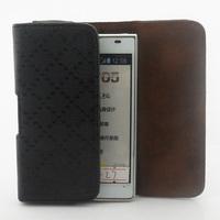 Luxury Retro Plaid Universal Belt Clip Leather case for LG Optimus L7 P700 P705 Free shipping 04
