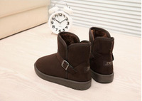 New fashion autumn and winter snow short boots men and women's shoes  platform warm boots cotton-padded shoes