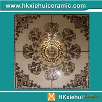 1200*1200mm crystal polished tile with gold carpet tile