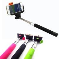 Bluetooth Self Portrait Selfie Handheld Stick Monopod Holder For iPhone HTC