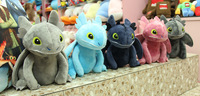 Wholesale Stuffed Toy&Super Toy & TOY How To Train Your Dragon Toothless Plush toy doll 10cm Figure Great for gift 24pcs