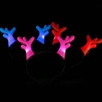 hot selling novelty news Wholesale flash antlers lamp Luminous antlers lamp Light head hoop antlers lamp Toy antlers lamp