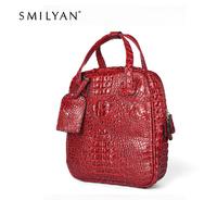 Smilyan new 2014 crocodile pattern women backpack leather fashion women backpack pu casual women backpack new women school bag