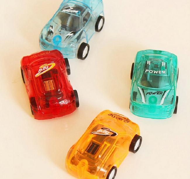 Cute Colors plastic mini pull back model car educational toys Baby infant Product 3Pcs/Lot(China (Mainland))