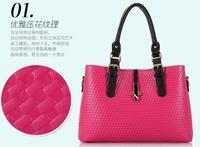 The new influx of Korean Quilted handbags woven shoulder bag handbag Ms. diagonal