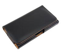 Hot Sale Premium Leather Belt Clip Holster Pouch Case For HTC One M7 10pcs/lot