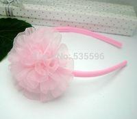 Fahion New Kids/Girls Multicolor chiffon sunflower Headband/ Cute hairdbands/ Hearwear/hair accessories free shipping