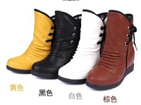 Free shipping/Han edition 2014 female students increased within single boots boots with Martin boots for England