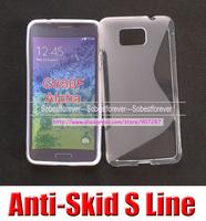 For Samsung Galaxy Alpha G850f F Alpha G901F soft silicone s line gel tpu case cover skin,20pcs/lot,free shipping