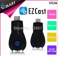 Hotsale !Free Shipping VSMART V5ii EZCast miracast Chromecast Ipush Tv Projector Share EZCast Support Windows Mac OS iOS Android