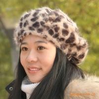 Hotsale Free shipping 2014 new fashion  snow cap, fur hats, Bomber hats, fur cap, Russia cap,Rabbit fur hat, beret, leopard hat