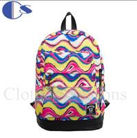 European Design Graffiti Durable PU Strap School Bag Teenage Kid Student Backpack Student Book Bag Mochila Escolar