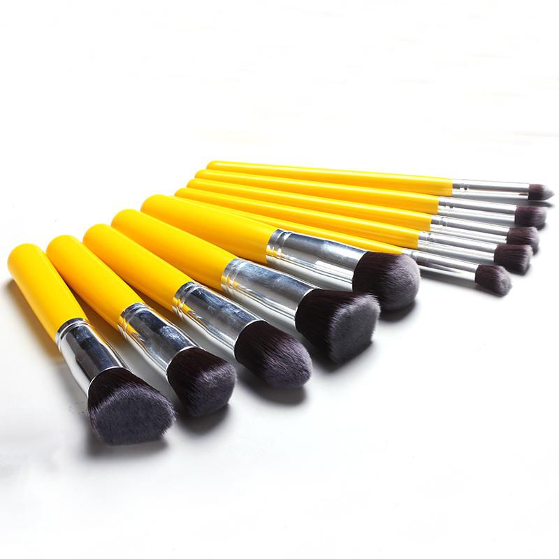 Soft Nylon Yellow Brushes