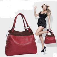 New 2014 women handbag genuine leather bags women Cow Leather bag Lady Cowhide Shoulder messenger bags PL324#76