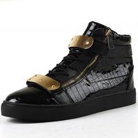 2014 spring new high-top shoes, men's shoes wild hip-hop fashion men's shoes Korean students