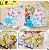 cartoon  new Frozen baby child cotton underwear. kid  cartoon panties .girl's boxer briefs.elsa panties .anna underwear for baby