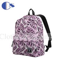 Feather Printing Trend Durable School Bag Quality Teenage Kid Student Backpack Student Book Bag Mochila Escolar Kid Backpack