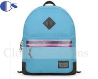 Solid Color Casual Durable School Bag Quality Teenage Kid Student Backpack Student Book Bag Mochila Escolar Kid Backpack