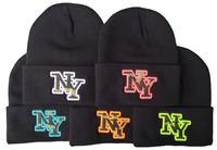Free Shipping 2014 newest cheap NY Beanie Black Men Women hip hop new arrival hot sale wholesale D8012