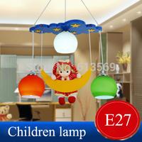 KINGARTChild real moon girl princess cartoon pendant lights kids bedroom pendant lights lamps