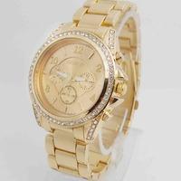 Luxury GENEVA Wholesale women wristwatches ladies rhinestone fashion Analog quartz watch Women watches SQW146
