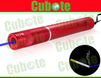 Cubote S308 450nm 1000mw Blue Laser Pointer With Focusing Function Can Burn Cigarettes (Red)